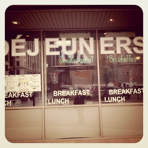 Montreal diner